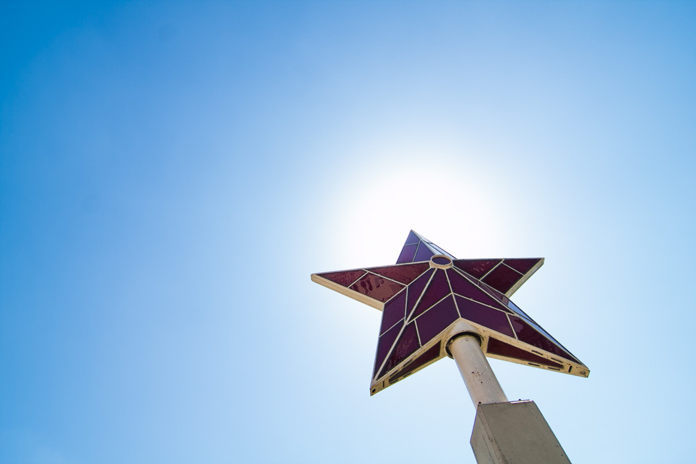 Soviet Star at the Socialist art museum