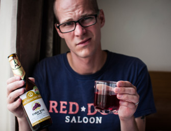 365 Drinks: #264 Paris Gold Red Wine (Myanmar)