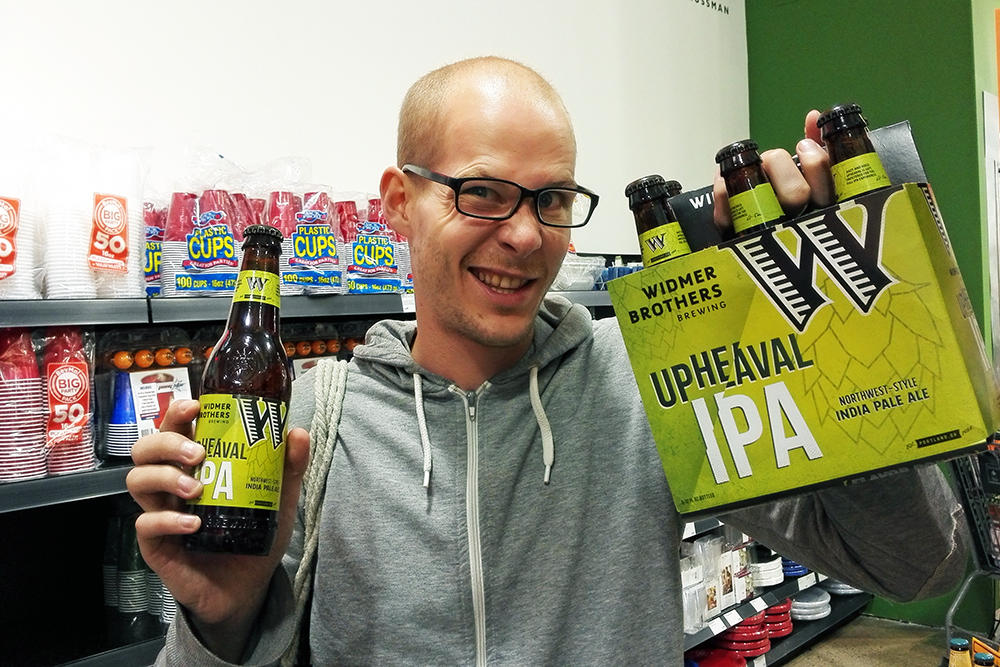 Widmer Brothers Brewing Upheavel IPA